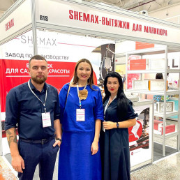 SheMax at an exhibition in Kazakhstan