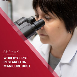 World's first research of manicure dust