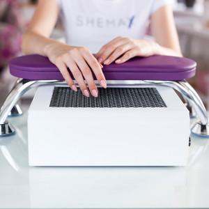 Фіолетова манікюрна підставка для рук SheMax
