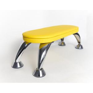 Жовта манікюрна підставка для рук SheMax