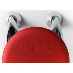 Червона манікюрна підставка для рук SheMax