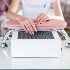 Рожева манікюрна підставка для рук SheMax