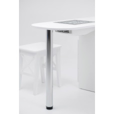 Capot intégré dans la table SheMax - Smart V-PRO