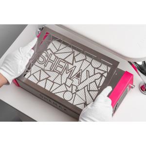 Професійна рожева манікюрна витяжка  Style PRO SHEMAX