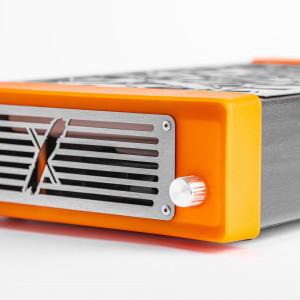 Професійна помаранчева манікюрна витяжка Style PRO SHEMAX